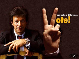 Do the right thing and vote Imran